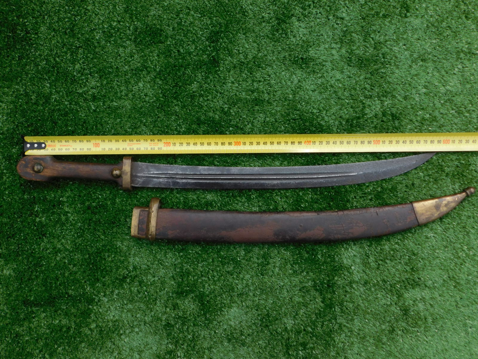 WWI Imperial Russian Kindjal Bedut Sword Dated 1913 and Scabbard