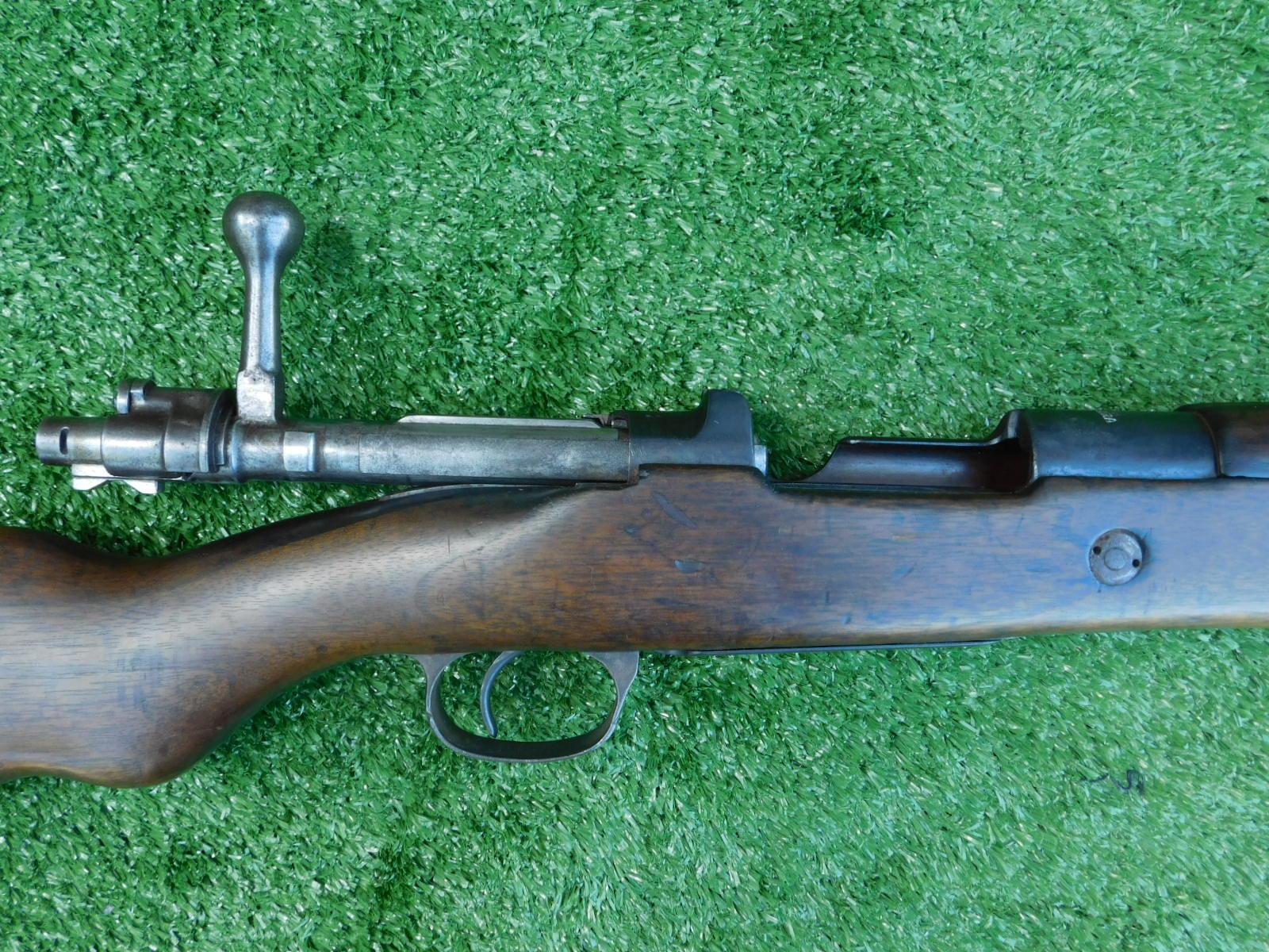 Matching Turkish Mauser